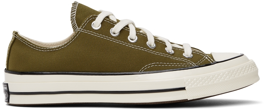 Green Chuck 70 OX Low Sneakers