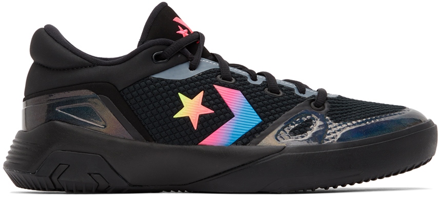 Converse Black G4 Low Sneakers In Iridescent
