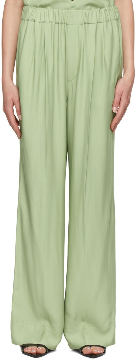 Green Tori Trousers