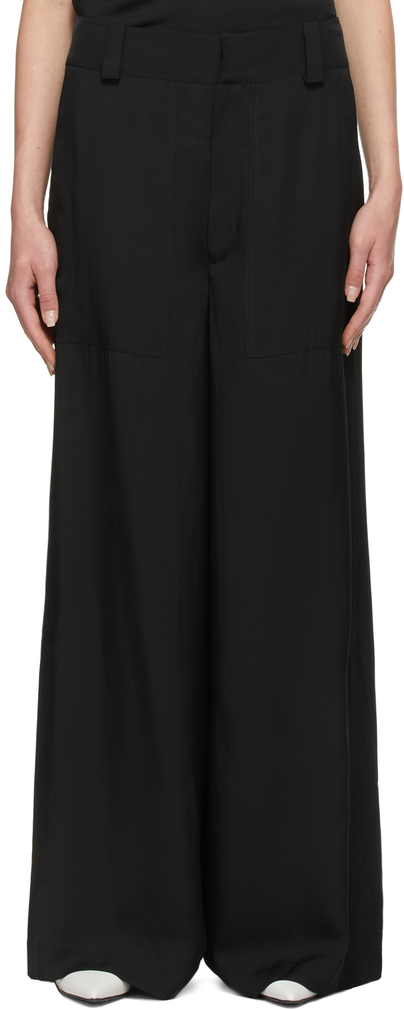Black Timber Trousers