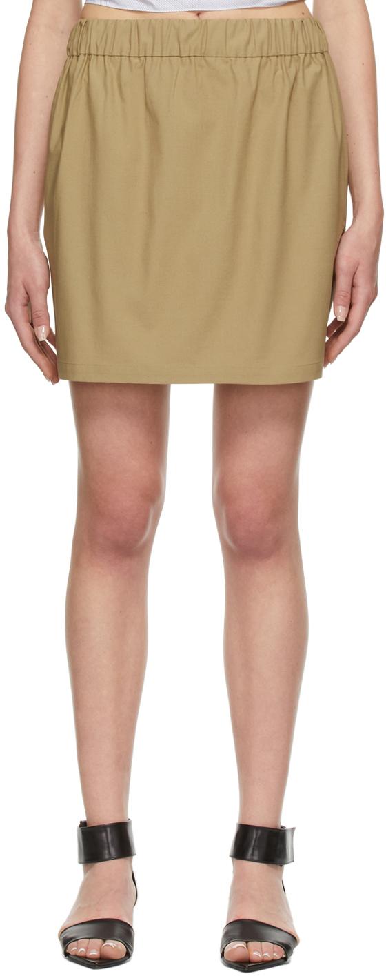 Beige Toni Miniskirt