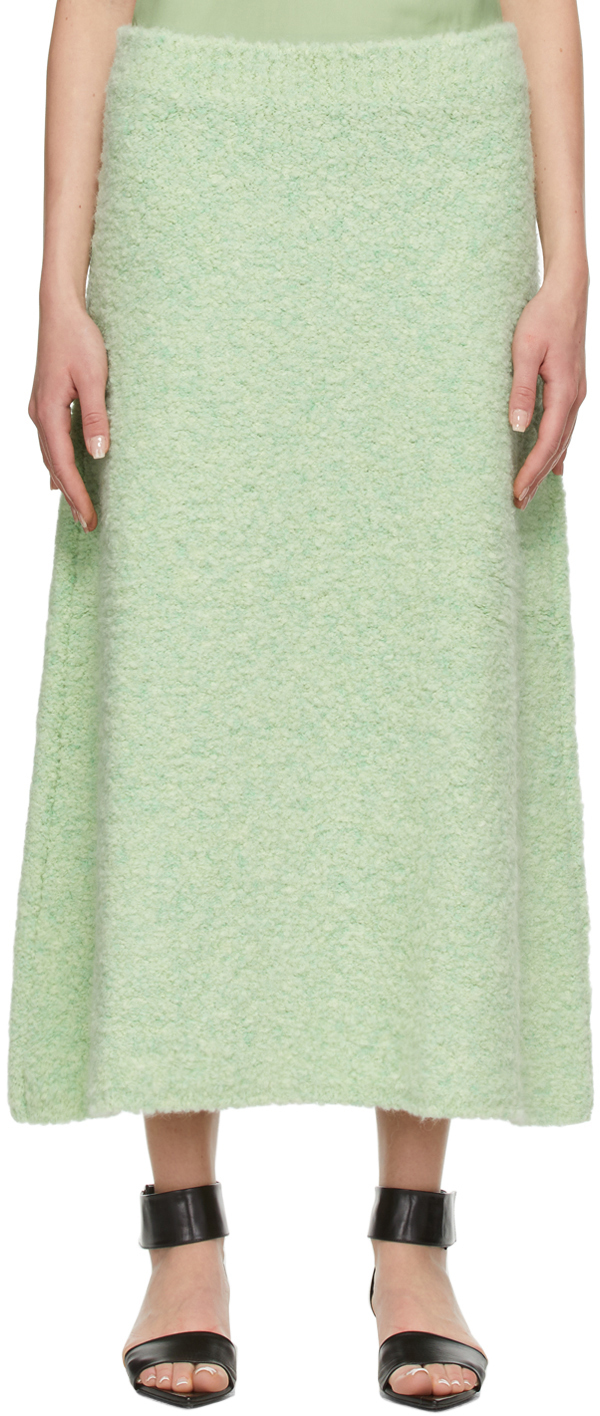 Green Alpaca Thies Skirt