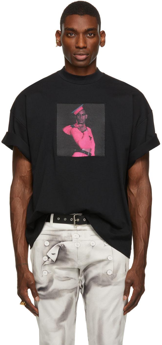 SSENSE Exclusive Black Les Marins Tanel T-Shirt