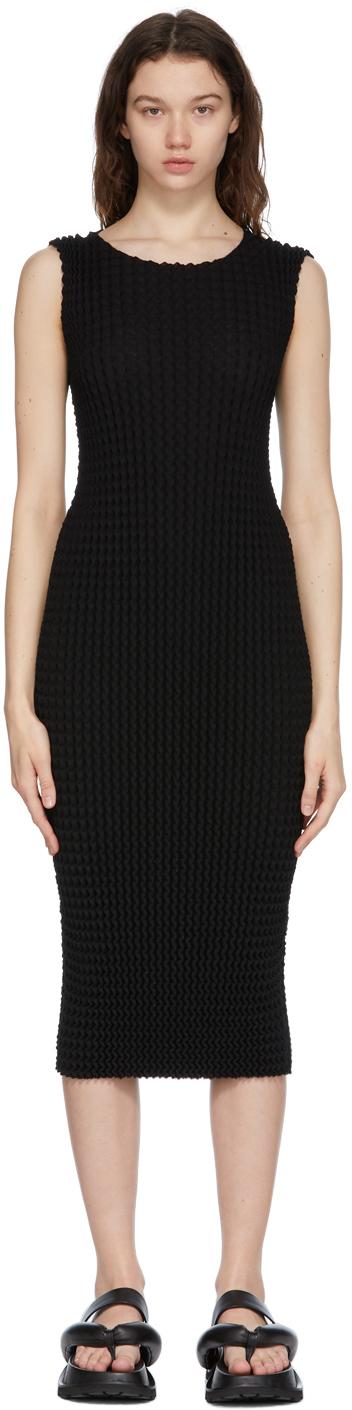 Black Spongy Dress