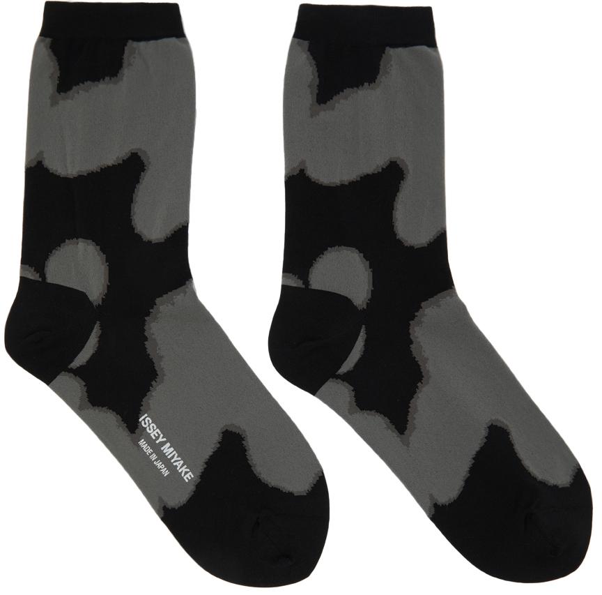 Black & Grey Shade Socks