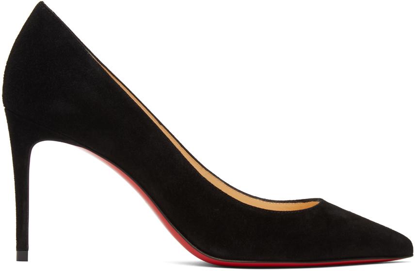 Black Suede Kate 85 Heels