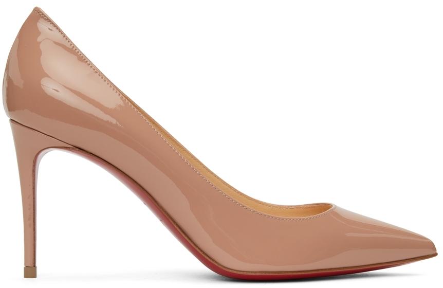 Beige Patent So Kate 85 Heels