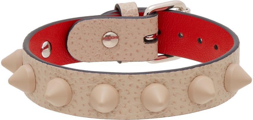 Grey Stud Loubilink Bracelet