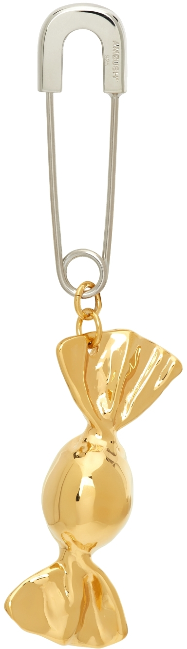 Gold Single Candy Charm 2 Earring