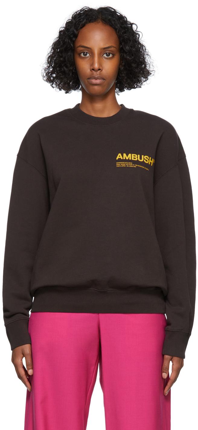 Brown Fleece Workshop Sweatshirt