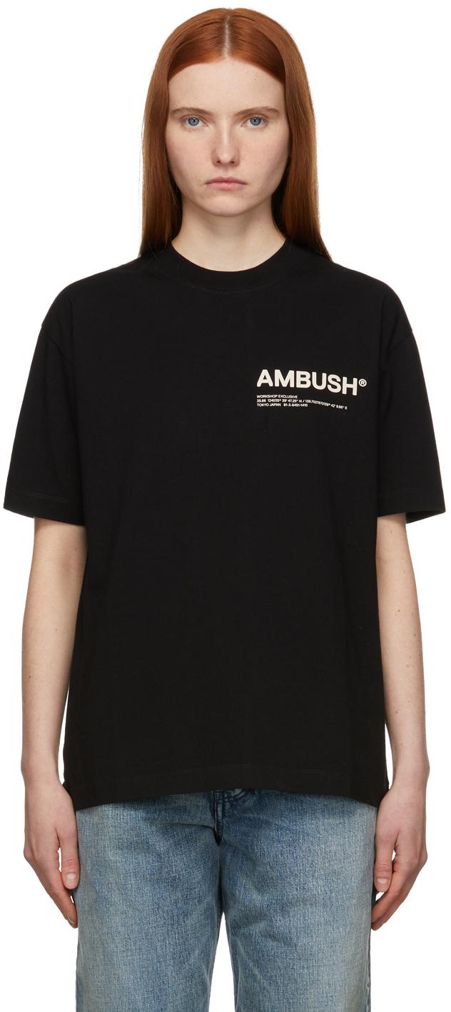 Black Jersey 'Workshop' T-Shirt