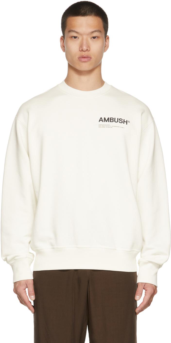 White Workshop Sweatshirt
