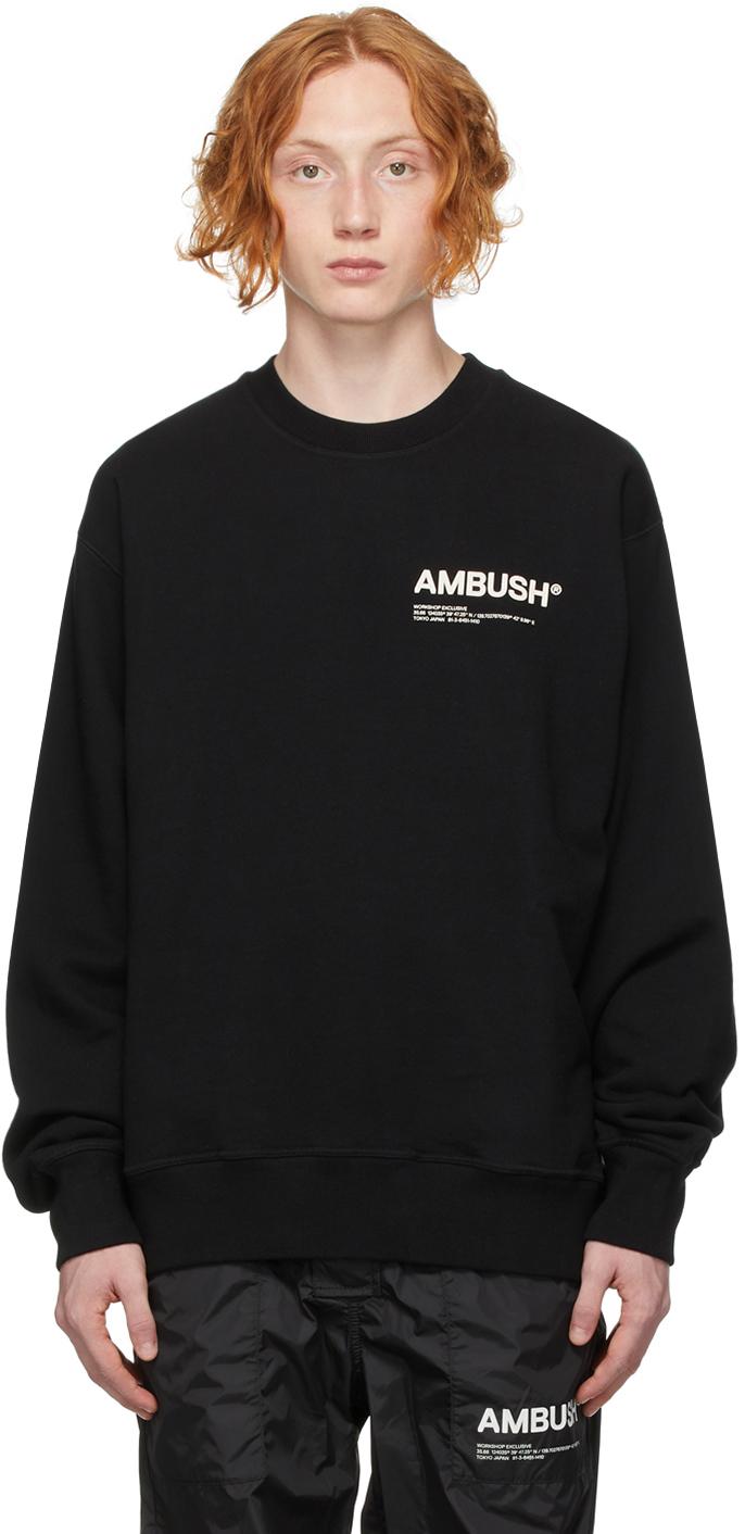Black 'Workshop' Sweatshirt