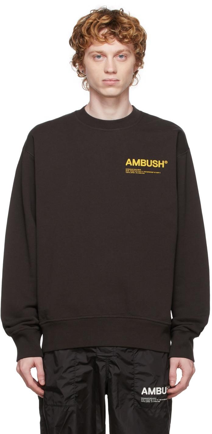 Brown 'Workshop' Sweatshirt