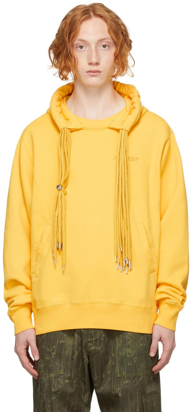 Yellow Multicord Hoodie