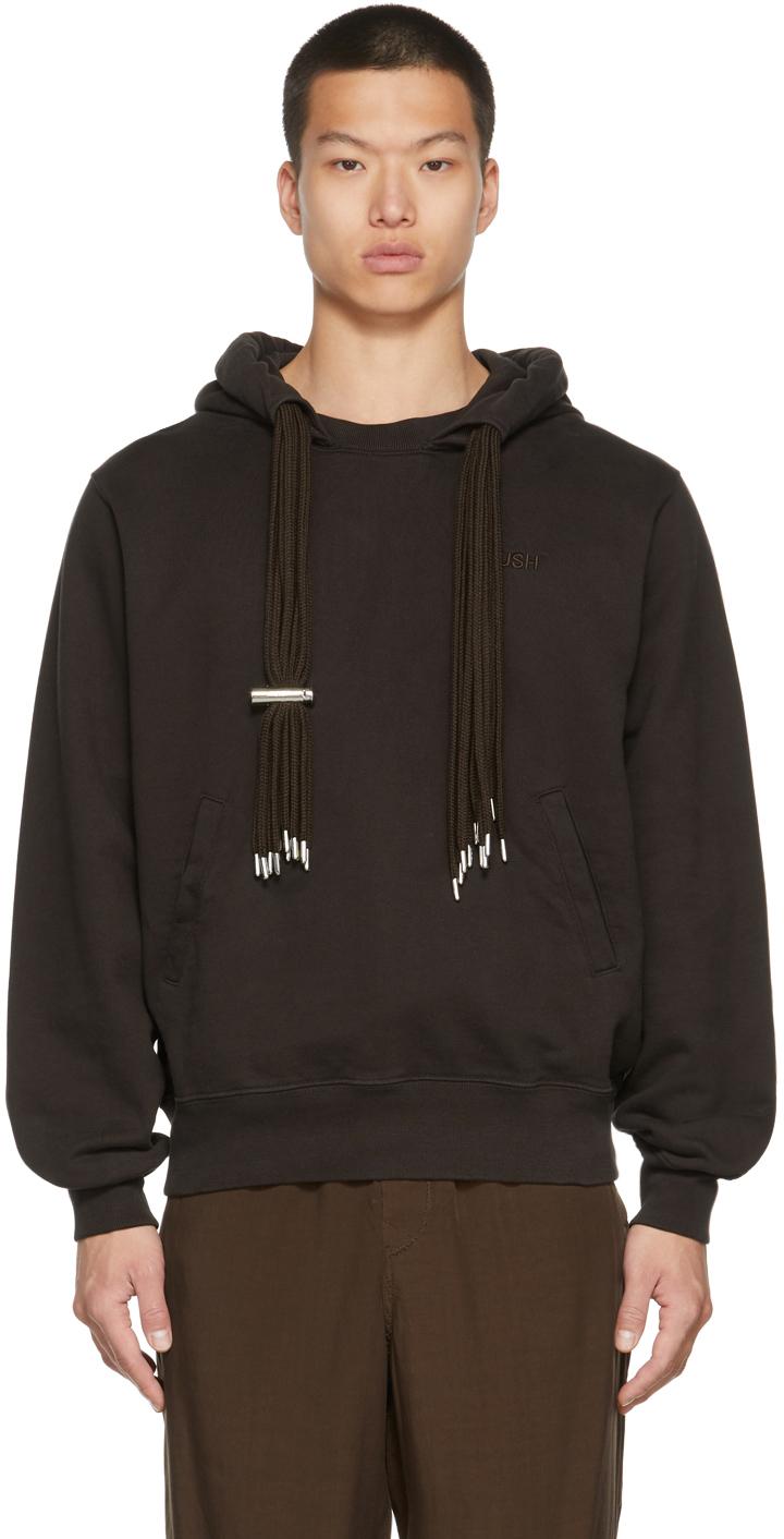 Brown Multicord Hoodie