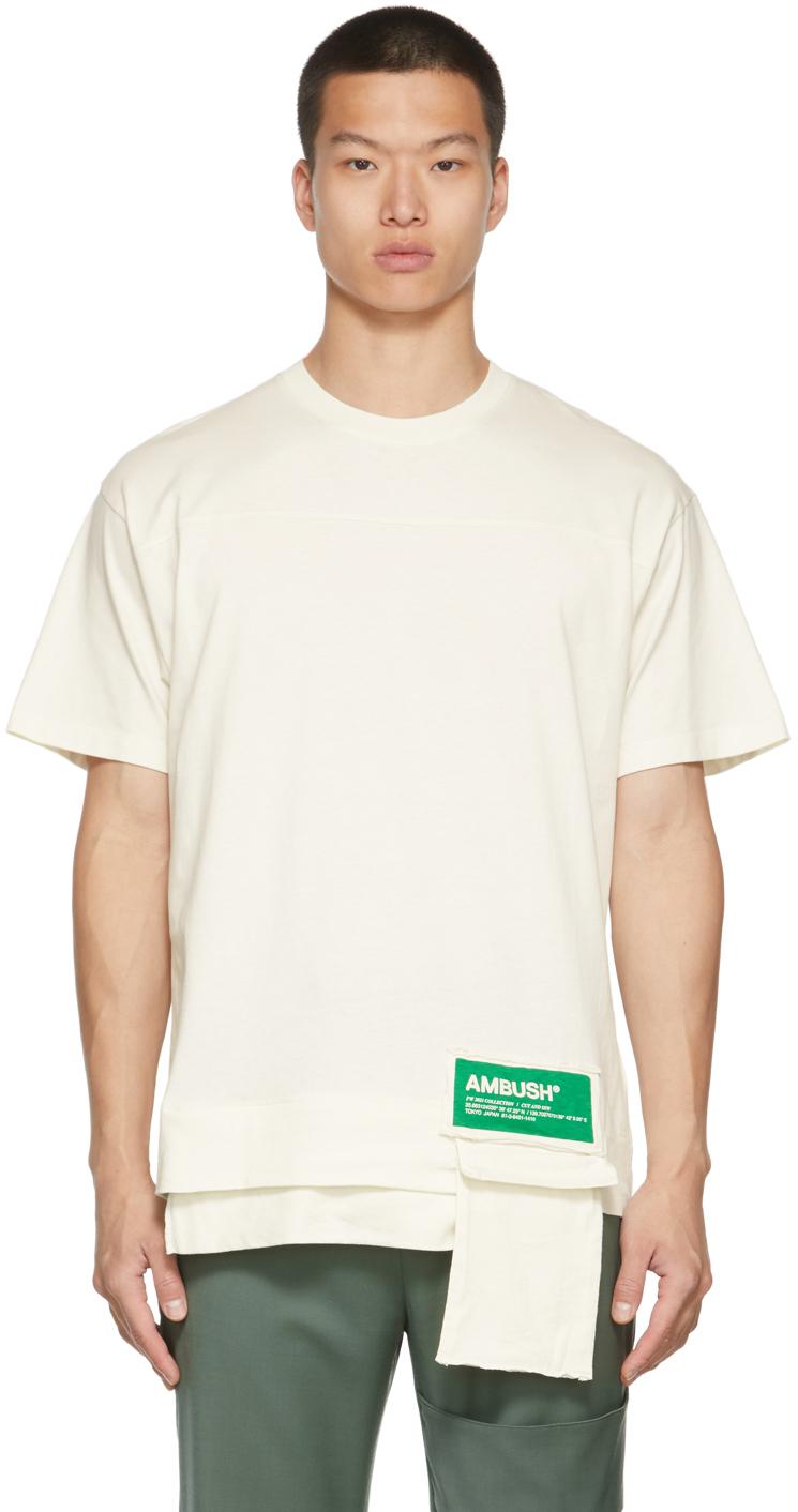 White Packable Waist Pocket T-Shirt