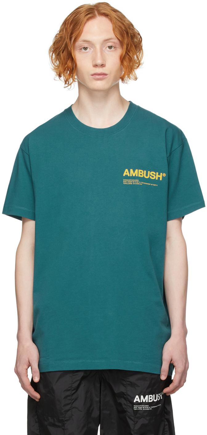 Blue Jersey 'Workshop' T-Shirt