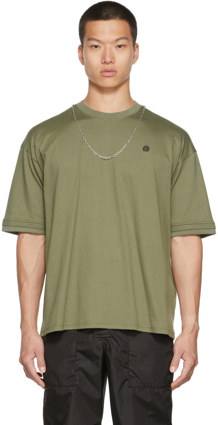 Green Chain Collar T-Shirt