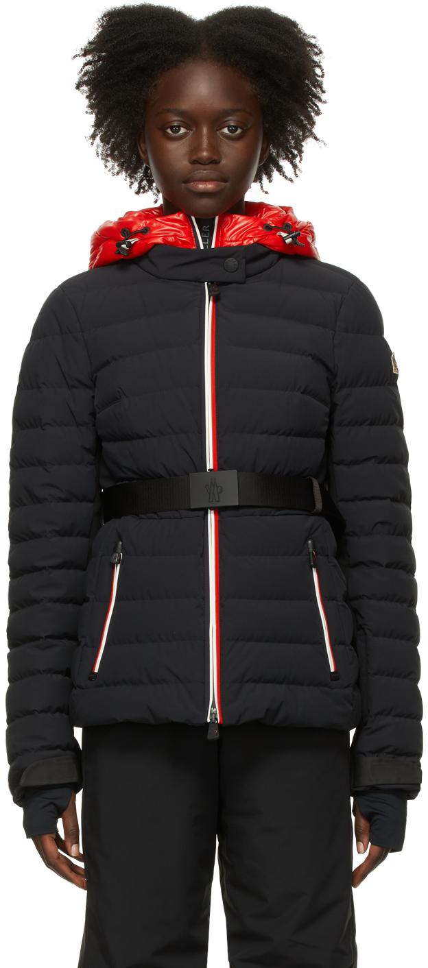 Black Down Bruche Puffer Jacket