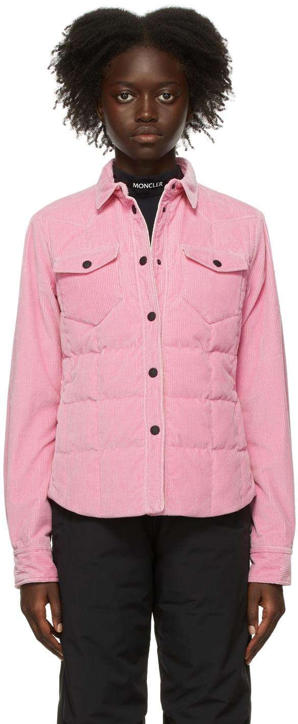 Pink Down & Corduroy Nangy Jacket