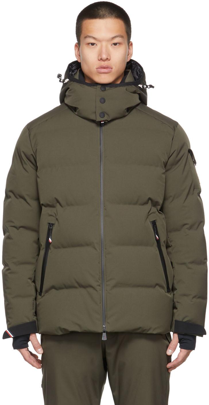 Green Montgetech Down Jacket