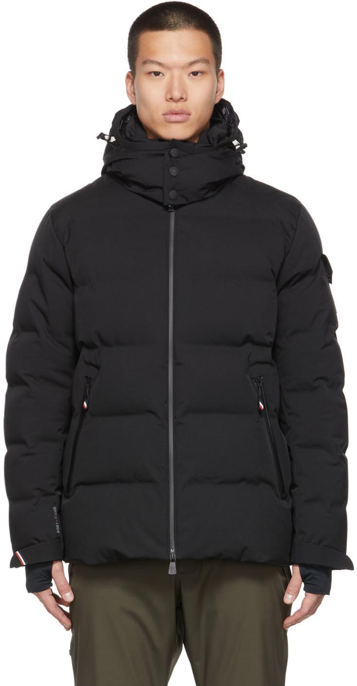 Black Montgetech Down Jacket