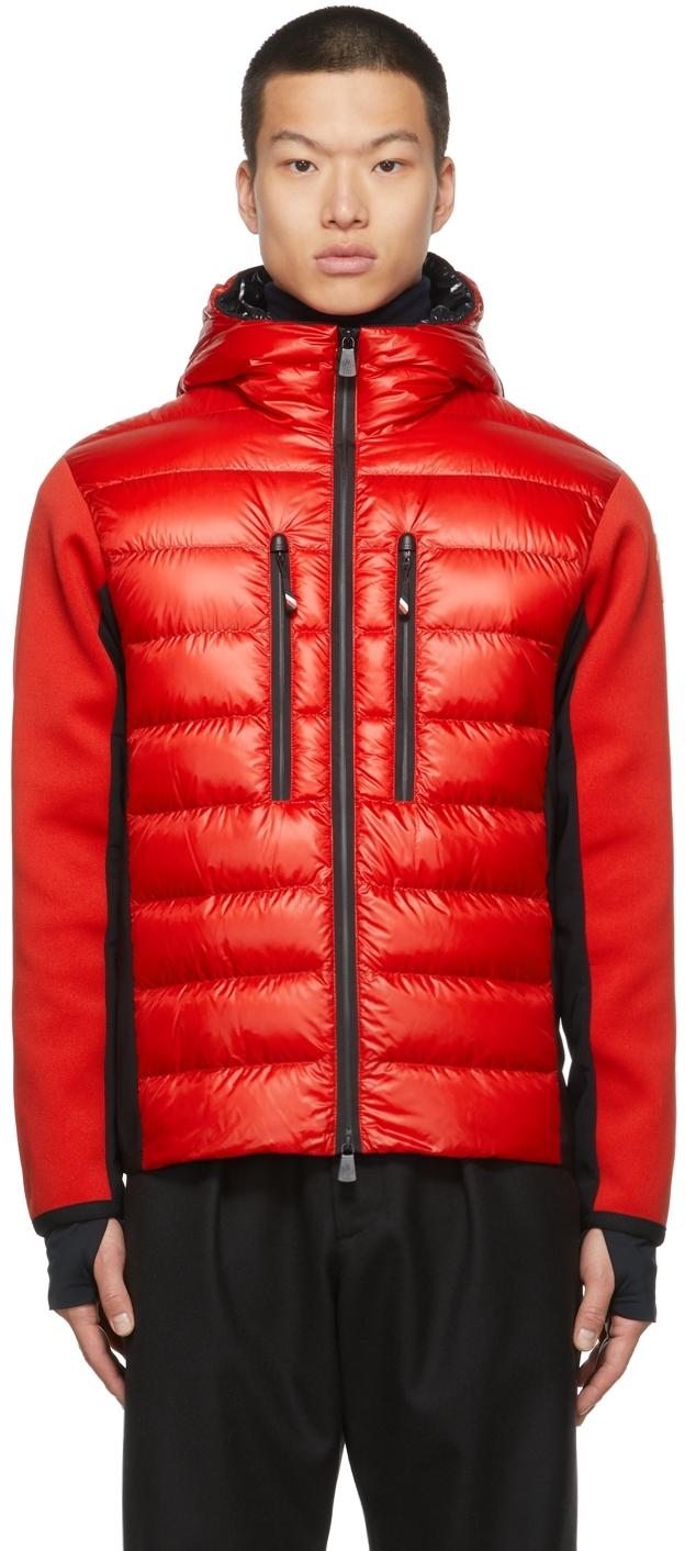 Down Paneled Hooded Jacket