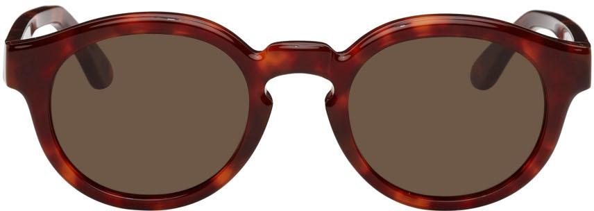 Red & Tortoiseshell Dan Sunglasses