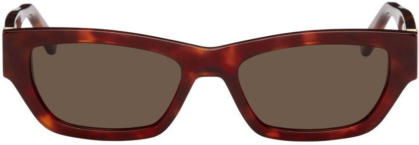 Red & Tortoiseshell Ball Sunglasses
