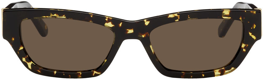Yellow & Tortoiseshell Ball Sunglasses