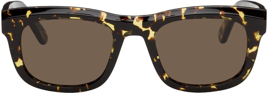 Yellow & Tortoiseshell National Sunglasses