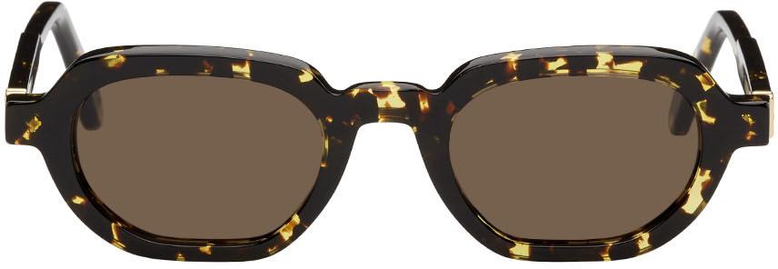 Yellow & Tortoiseshell Banks Sunglasses