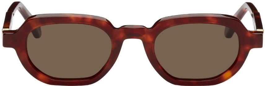 Red & Tortoiseshell Banks Sunglasses