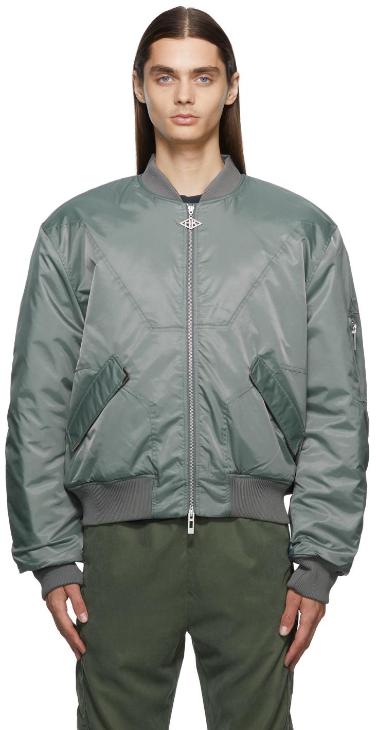 Cut Bomber Jacket