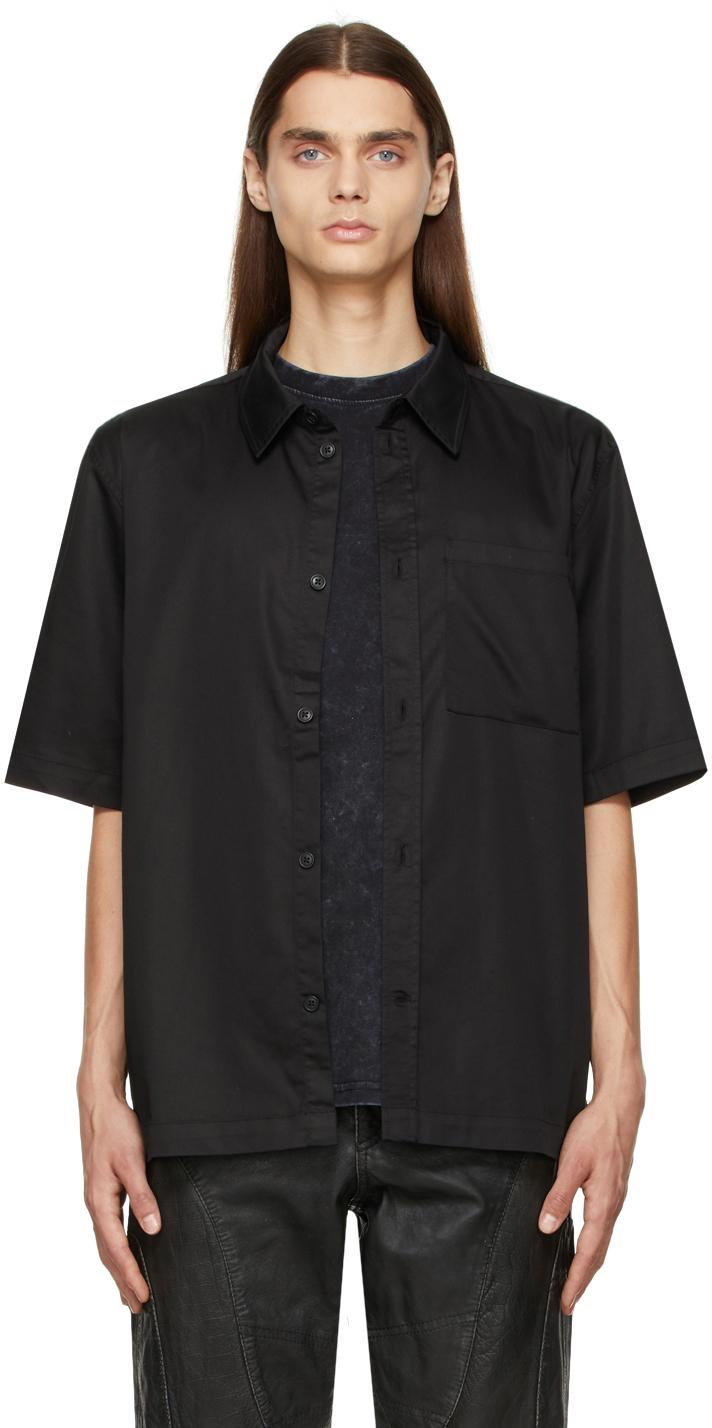 Black Boxy Shirt