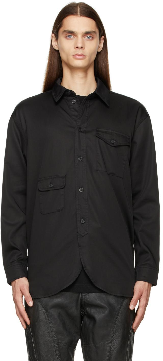 Black Army Shirt