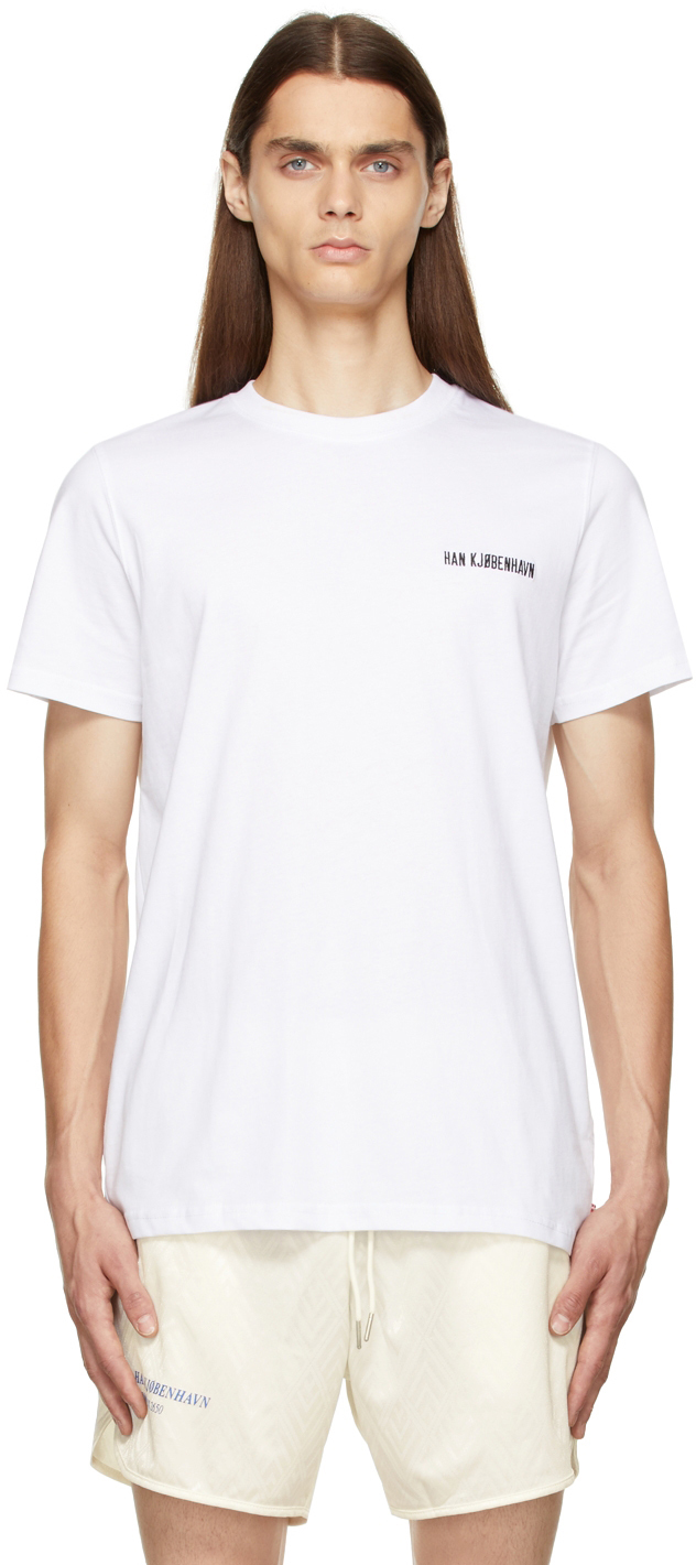 White Casual T-Shirt