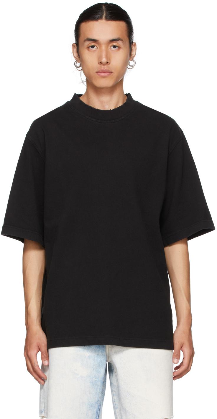 Black Distressed T-Shirt
