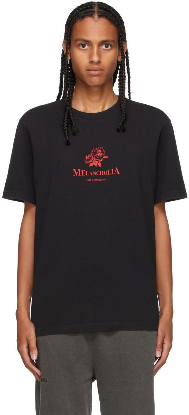Black Artwork T-Shirt