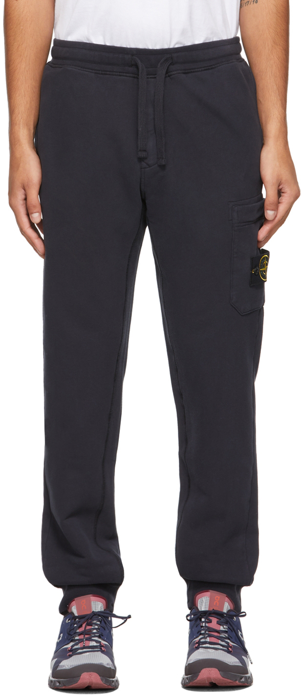 Navy French Terry Lounge Pants