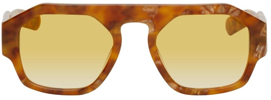 Tortoiseshell Lefty Sunglasses