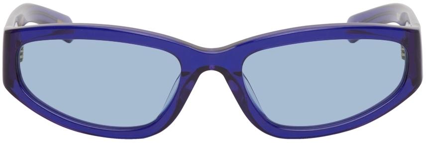 Blue Veneda Carter Edition Daze Sunglasses