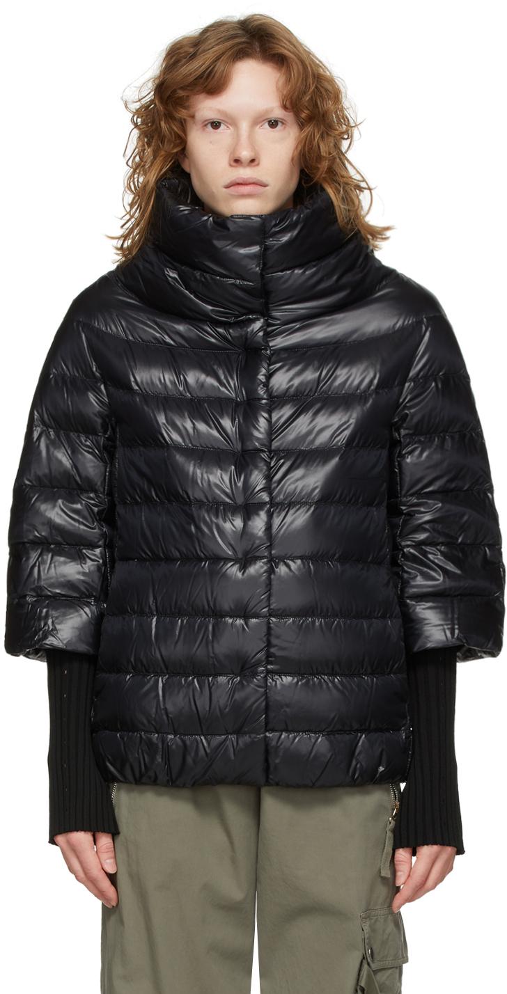 Black Down Aminta Jacket
