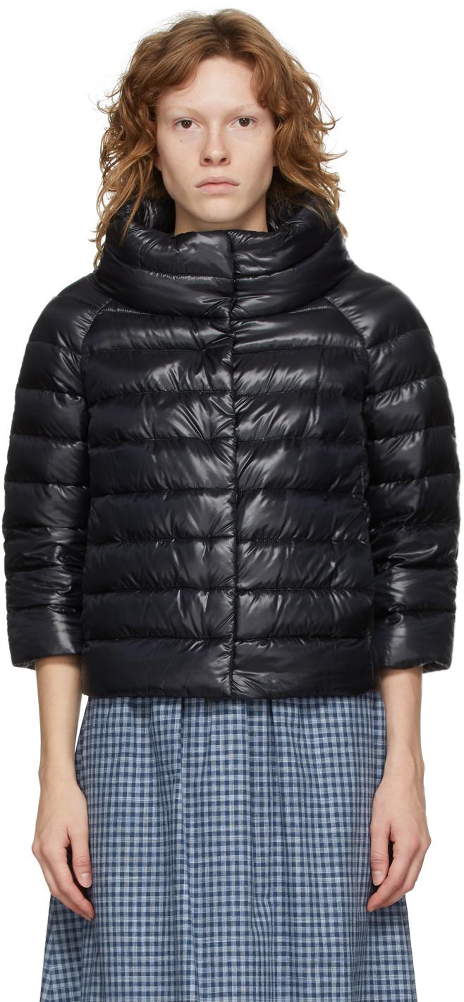 Black Down Sofia Jacket