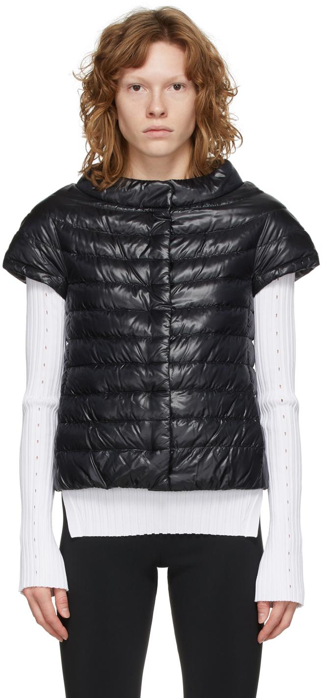 Black Down Emilia Vest
