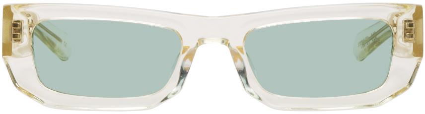 Yellow Bricktop Sunglasses