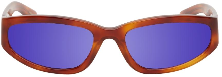 Tortoiseshell Veneda Carter Edition Mirrored Daze Sunglasses