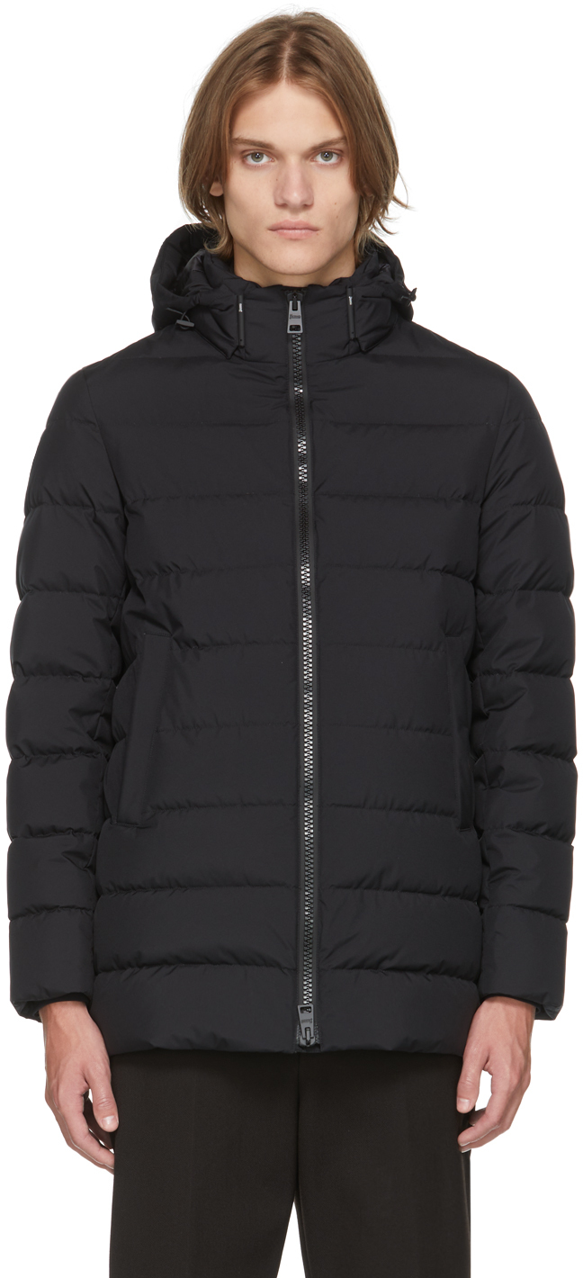 Black Down Gore-Tex Windstopper Jacket