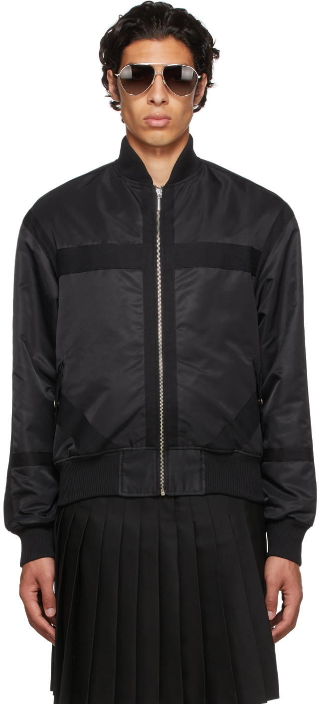 Black Liberte Bomber Jacket